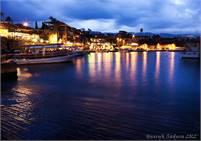 Byblos Harbor at Sunset