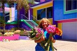 Woman's Wild Rainbow House Rankles Neighbors For Decades