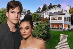 Ashton Kutcher And Mila Kunis Selling Beverly Hills Mansion For $14M