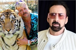 Nicolas Cage, naturally, will play Joe Exotic in 'Tiger King' series
