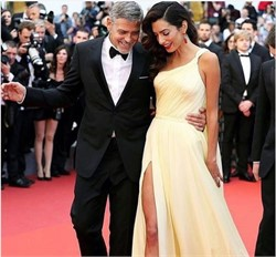 Amal and George Clooney Donated To Coronavirus Relief Efforts in Lebanon